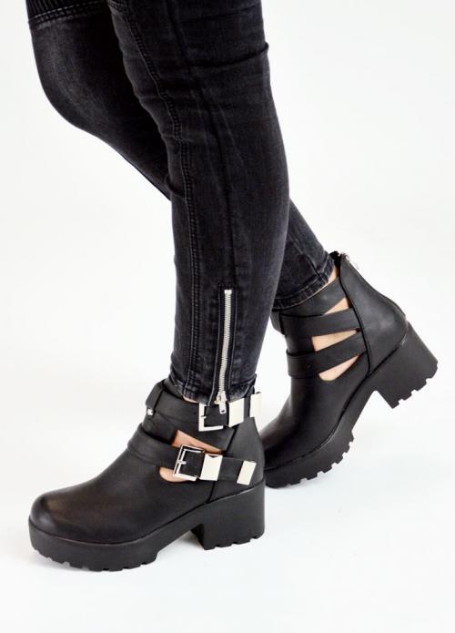 Μποτάκια Tracksole με Λουριά – LUIGI FOOTWEAR 6ddf98e7d23